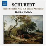CD Piano Sonatas Nos. 1, 8 & 15 'Reliquie' (Importado)