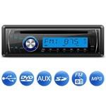 Cd Player Automotivo Lenoxx Ar613 1 Din USB Mp3 Sd Aux Rca Frente Destacável Equalizador 4 X 15w Rms