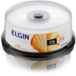 CD-RW Elgin 700MB/80min 12x (Cake C/ 25)