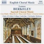 CD Sacred Choral Music (Importado)
