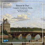 CD - Simon Le Duc - Complete Symphonic Works