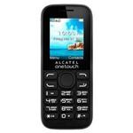 "Celular Alcatel 1052D Dual Chip Tela 1.8"" Rádio FM Bluetooth Ultraleve Preto"