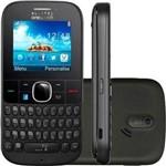 Celular Alcatel Onetouch 3075 Wi-Fi, 3G, Teclado Qwerty, Vivo Desbloqueado - Grafite