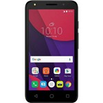 "Celular Alcatel Pixi 4 - 5010e Lite, Dual Chip, Tv Digital, Tela 5"", 8gb, Câmera 8mp e Frontal 8mp C"