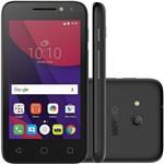 Celular Alcatel Pixi 4 Lite 4034e Preto - 3g, Dual Chip, Tela 4'', 8gb, Câmera 8mp e 5mp
