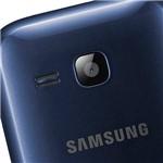 Celular Dual Chip Samsung Rex 60 com TV Digital Azul - Câmera 2MP Memória Interna 80MB e Cartão 2GB