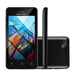 Celular Ms40s Multilaser Preto Dual Chip Android Tela 4 3g