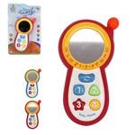Celular Musical Infantil Baby Smart Jr Colors com Luz a Pilha na Cartela Wellkids