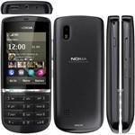 Celular Nokia Asha 300 Preto Câmera 5 Mp 1 Ghz 3