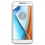 "Celular Smartphone Motorola Moto G4 Plus Xt1642 Dual 16gb 5.5"" 16.0mp 4g Android 6.0.1 Branco."