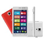 Celular Smartphone Ms5 Colors 4,5 Branco - P3311 Multilaser