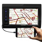 "Central Multimídia Pósitron Sp8230 Link 2 Din 6.2"" Lcd Bluetooth Touch Screen Usb Sd Mp3 Am Fm"
