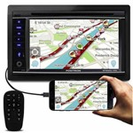 "Central Multimídia Pósitron Sp8920 Nav Tela 6.2"" 2 Din Touch Bluetooth Espelhamento Tv Gps USB Sd"
