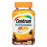 Centrum MultiGummies Adulto 150 Gomas - Natural Cereja, Laranja e Pequenos Frutos - Importado