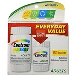 Centrum Multivitamínico Adultos 130 Tablets - Importado