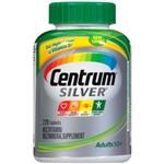 Centrum Silver Adulto 50+ 220 Tablets - para Adultos com 50 Anos ou Mais - Importado