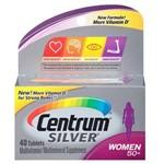 Centrum Silver Mulher 50+ com 40 Cápsulas - para Mulheres com 50 Anos ou Mais - Importado