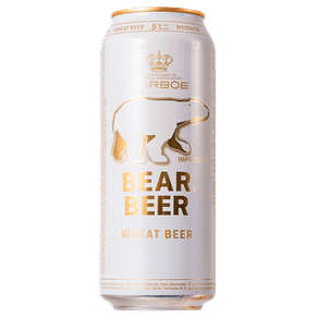 Cerveja Bear Beer Wheat 500ml (Lata)