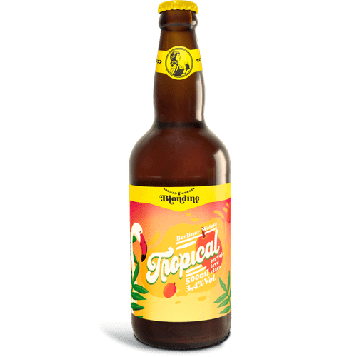 Cerveja Blondine Tropical 500ml
