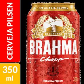 Cerveja Brahma Chopp 350ml (Lata)