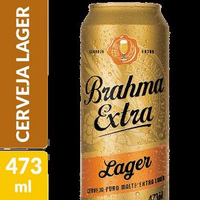 Cerveja Brahma Extra Larger 473ml Lata