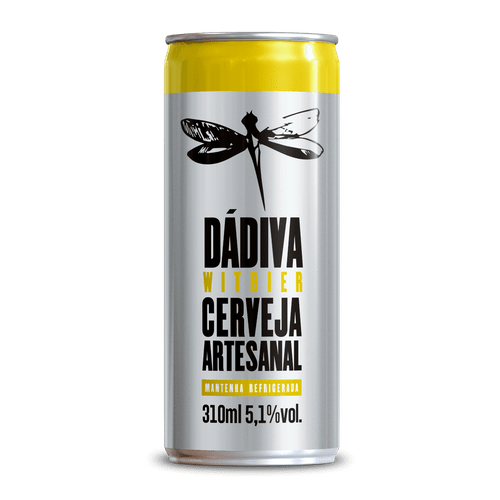 Cerveja Dádiva Witbier 310ml