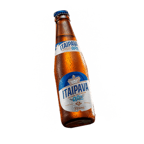 Cerveja Itaipava 0,0% Álcool 355ml (Long Neck)