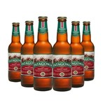 Cerveja Patagonia Amber Lager 355ml Caixa (6 Unidades)
