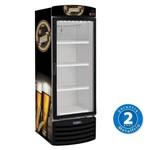 Cervejeira 572 Litros com Porta de Vidro Capc. 196 Garrafas 600 Ml - Metalfrio - VN50RB - 220v