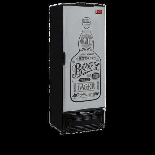 Cervejeira Gelopar, 410 Litros, Porta Cega, Tipo Inox - GRBA400GW - 220V