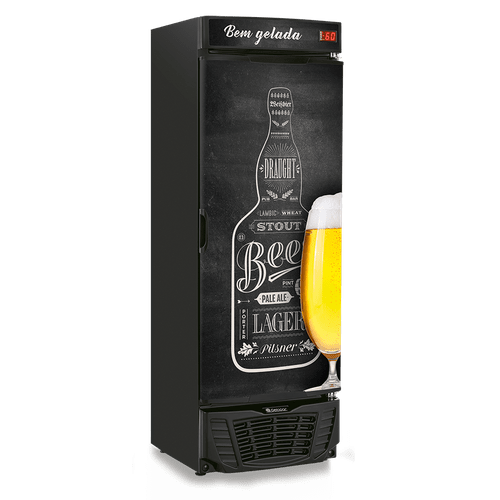 Cervejeira Gelopar, 441 Litros, LED, Frost Free, Porta em Adesivo - GRBA-450 - 220V