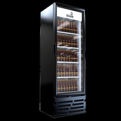Cervejeira Imbera, 449 Litros, Porta de Vidro, Preta - CCV315 - 220V