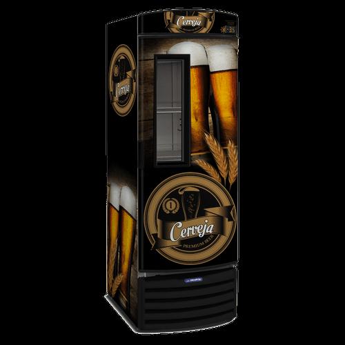 Cervejeira Metalfrio 434 Litros Porta Adesivada VN44FL - 220V