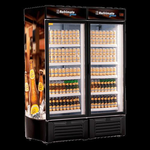 Cervejeira Refrimate, Visa Cooler, 1300 Litros, Porta de Vidro - VCC1300V - 220V