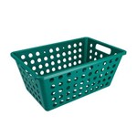 Cesta One Grande 28,8 X 19,1 X 12,3 Cm Verde Esmeralda - Coza