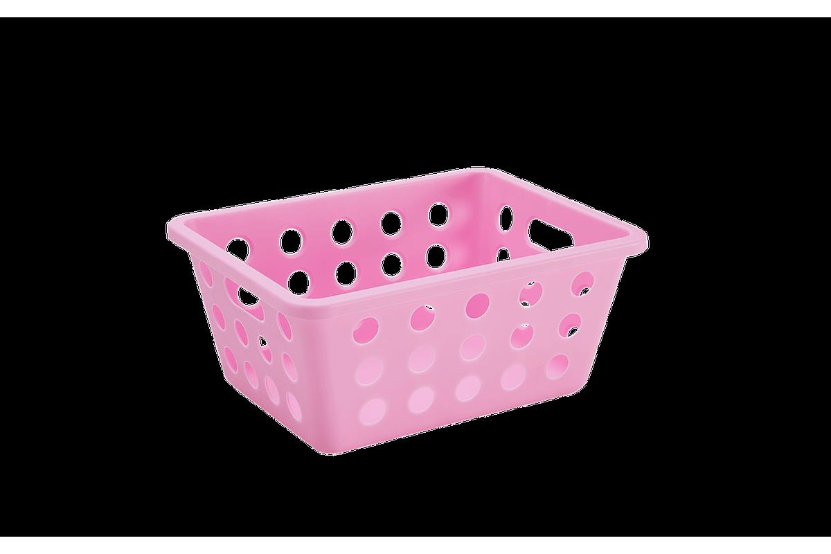 Cesta Pequena 18,6 X 14,2 X 8,2 Cm Rosa Baby Coza