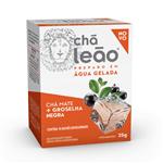 Chá Leão - Chá Mate com Groselha Negra 10 SACHÊS