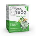Chá Leão - Chá Verde com Gengibre e Limão 10 SACHÊS