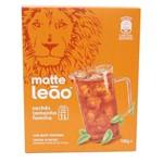 Chá Matte Leão Natural Sachet 100 Gramas Caixa com 10 Unidades Teabag - Leão