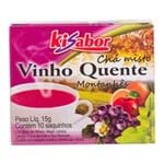 Chá Misto Vinho Quente Montanhês Kisabor 15g