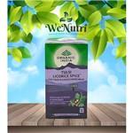 Chá Tulsi Alcaçuz e Especiarias 25 Sachês - Organic India