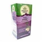 Chá Verde Tulsi e Jasmin Organic India Cx 25 Sachês