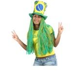 Chapelouco Brasil com Cabelo Longo - Copa do Mundo