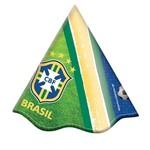 Chapéu Brasil Cbf C/ 08 Unidades
