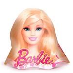 Chapeu de Aniversario Barbie Core 08 Unidades Regina Festas