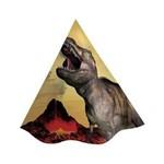 Chapéu de Aniversário Dinossauro C/8