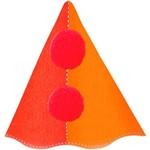 Chapéu de Aniversário Palhaço Feliz com 8 Unidades - Regina Festas