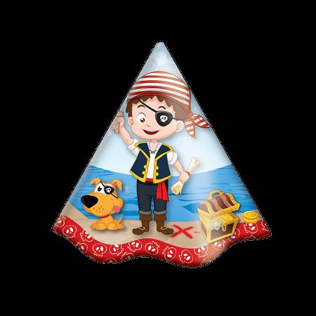 Chapéu de Aniversário Piratas