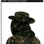 Chapéu Pescador com Protetor Verde 57