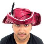 Chapéu Pirata Adulto Luxo Importada